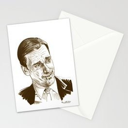 Don Draper (TV character played by Jon Hamm) Stationery Cards