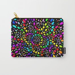 Black Psicodelia Carry-All Pouch