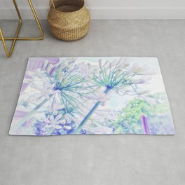 African Lilies (Agapanthus) Rug