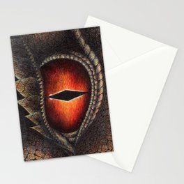 Red Dragon's Eye Stationery Cards