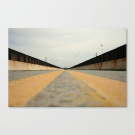Closed Bridge Canvas Print