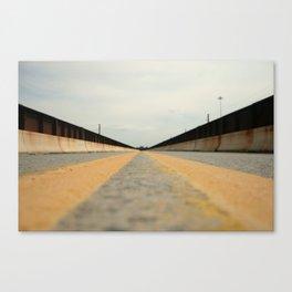 Closed Bridge Canvas Print