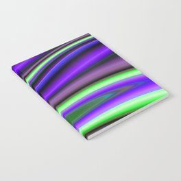 Abstract Fractal Colorways 01PL Notebook