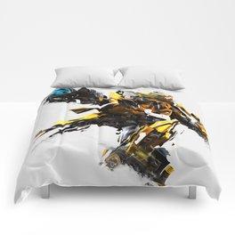 Bumblebee Digital Print Comforters