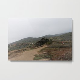 Malibu Trails Metal Print