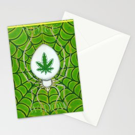 White Widow Stationery Cards