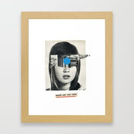 Where are they now? Framed Art Print