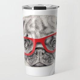 pug dog - carlino - carlin - doguillo Travel Mug