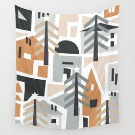Holiday shapes Wall Tapestry