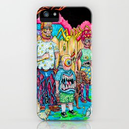 King of the Mutants iPhone Case