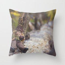 Wood Elf Throw Pillow