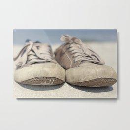 Sneakers old Metal Print