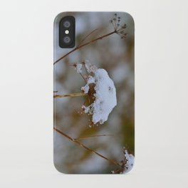Snow Fall iPhone Case