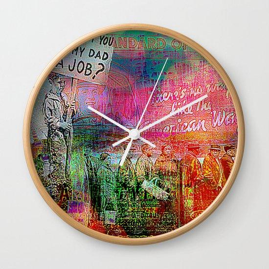 Slice of America 7 Wall Clock