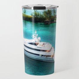 Sailing in the Bahamas Travel Mug