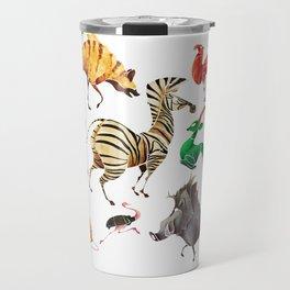 African animals 2 Travel Mug
