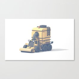 Street Sweeper Canvas Print