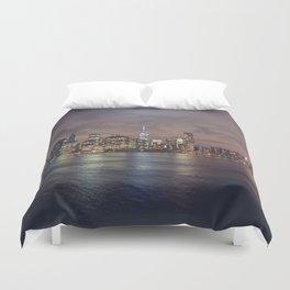 NYC Skyline Duvet Cover