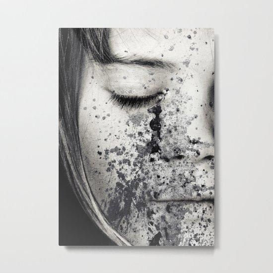 Anonymous - Ella 3 Metal Print