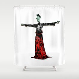 Exorcist Shower Curtain