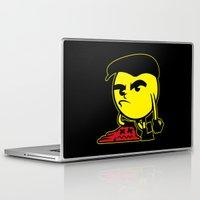pac man Laptop & iPad Skins featuring Pac-Man by La Manette