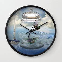 Invisibility Wall Clock