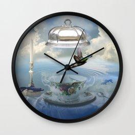 Invisibility Wall Clock
