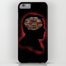 Crowley's Phrenology iPhone Case