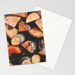 Timber butts Stationery Cards