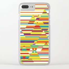 Harmony and Cacophony Clear iPhone Case