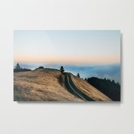 Above the cloouds Metal Print