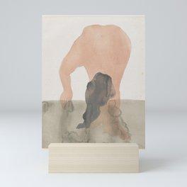 Auguste Rodin Nude Figure Lithograph #4 Mini Art Print