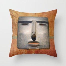 The forgotten face Throw Pillow