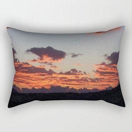 Aegean Sunset Rectangular Pillow