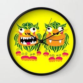 シーサー Shi-sa Wall Clock