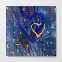 Star rainbow Metal Print