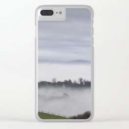 The Farm House Beyond - II Clear iPhone Case