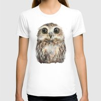 T-shirts featuring Little Owl by Amy Hamilton