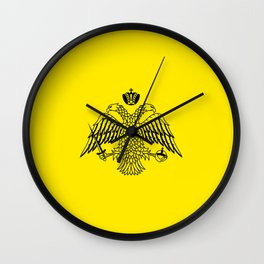 Greek Orthodox Church religion flag Wall Clock