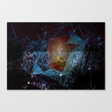 somewhere in space Canvas Print