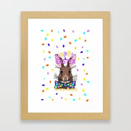 Happy Easter Every Bunny Framed Art Print