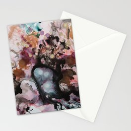 Coral Reef Abstract Stationery Cards