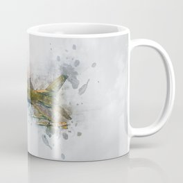 F16 Fighting Falcon Coffee Mug