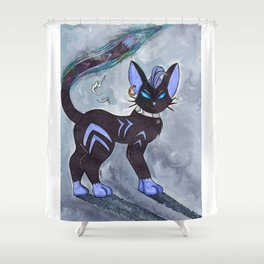 Darkness is your Friend Shower Curtain
