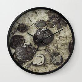 Horseshoe Graveyard Wall Clock