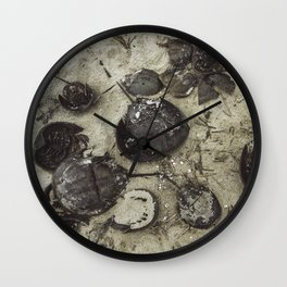 Horseshoe Graveyard Wall Clock