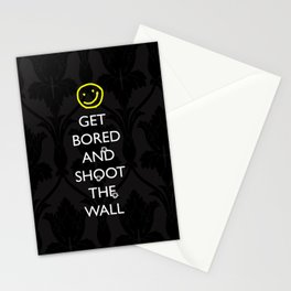 Smiley target Stationery Cards