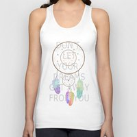 dreamcatcher Tank Tops featuring Dreamcatcher  by Cute to Boot