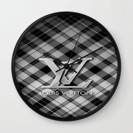 LouisVuitton Patern Logo Wall Clock