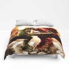 Iron man vs Hulk - Hulkbluster Comforters